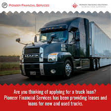 100 Pioneer Trucks Truck Loans Calgary Financial Services And
