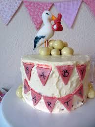 vanille ombre torte mit rezept zur babyshower oder reveal