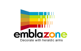 Embalzone Decorate With Heraldic Arms Interior Exterior Logo Design