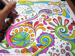 For My Compassion Kids Free Abstract Coloring Page To Print By Thaneeya McArdle Omg I Wouldve Gone Freaking Nuts A Whole Book Of These As Kid