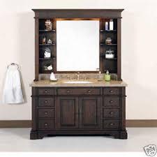 Ebay 48 Bathroom Vanity by 48 W Single Sink Bathroom Vanity Hutch Granite Top Ebay 48