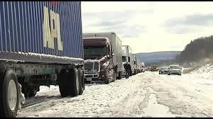 100 Crosby Trucking VIDEO Vehicle Ban Before Snowstorm WFMZ