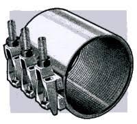pipe repair couplings galvanized compression ings aka dresser ings