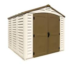 Tractor Supply Wood Storage Sheds by Duramax Sidemate 4x8 Vinyl Lean To Shed With Foundation U2014 Sheds Com