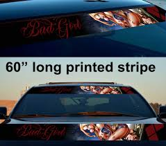 100 Truck Decals For Girls Buy Driven By Harley Quinn Woman Suicide Squad DC Bad Girl Superhero