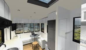 Interior Of A Custom RV Design