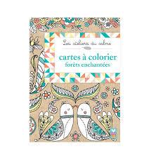 Cartes Postales à Colorier Forêts Enchantées Pour Enfant De 7 Ans à
