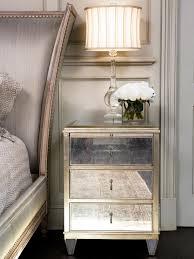Z Gallerie Glass Dresser by Nightstand Mirrored Nightstands Wood And Nightstand Modern Gold