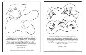 Creation Story Coloring Book