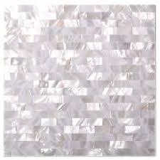 subway tile white seamless of pearl kitchen backsplash tile