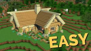 100 Rustic House How To Build A In Minecraft Block By Block Easy