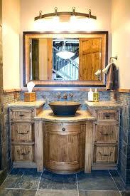Rustic Style Bathrooms Country Bathroom Vanities And Best Ideas On