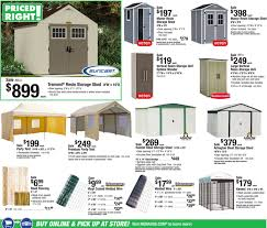 Menards Shed Building Plans by Menards Priced Right Sale 7 9 17 7 15 17