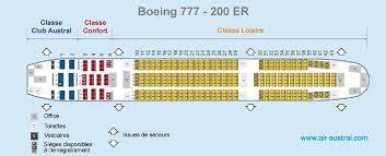 boeing 777 200 sieges avis du vol air austral dzaoudzi st denis en economique