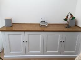 Estate By Rsi Laundry Cabinets by Built In Sideboard Oak Top Just Alcoves Alcove Cabinets
