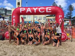 4 February 2018 A Total Of 514 Swimmers Took To The Waters Off Cronulla Beach On Sunday Compete In PAYCE Shark Island