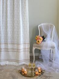 Gold And White Window Curtains by White And Gold Elegant Romantic Curtain Panel These Unique