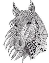 Free Coloring Pages Horses Davlin Publishing