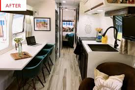 100 Inside An Airstream Trailer Renovation Before And After Photos Apartment