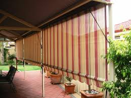 Roll Up Patio Shades by Great Outdoor Roll Up Blinds Bamboo Improvement Http Window