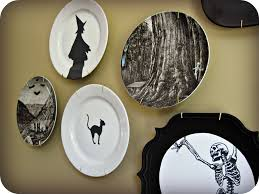 Halloween Witchcraft 4-piece Dessert Plate Set By Lenox ... Vintage Halloween Colcblesdecorations For Sale Pottery Barn Host Your Party In Style Our Festive Dishes Inspiration From The Whimsical Lady At Home Snowbird Salad Plates Click On Link To See Spooky Owl Bottle Stopper Christmas Thanksgiving 2013 For Purr03 8 Ciroa Wiccan Lace Dinner Salad Plates