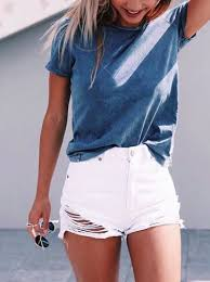 Vintage Blue White