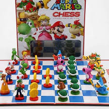 Super Mario Chess Game For Kenny Christmas