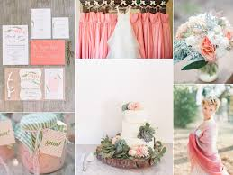 Pink Wedding Inspiration Board With Rustic Details