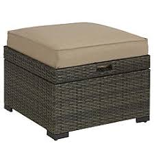 Sears Patio Cushion Storage by Outdoor Ottomans Patio Ottomans Sears