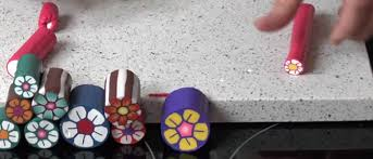 tuto fimo fleur simple en pâte fimo