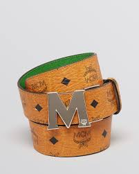 MCM Reversible M Belt