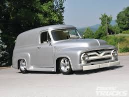100 Panel Trucks 1955 Ford Truck Hot Rod Network
