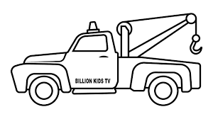 100 Construction Truck Coloring Pages Tow Eskayalitim