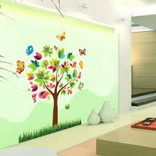 birds butterfly tree wall decal room wall sticker