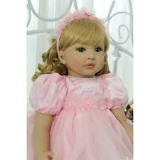 24 Handmade Reborn Toddler Baby Doll Realistic Alive Pretty Girl