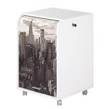 bureau caisson caisson de bureau blanc 2 tiroirs simmob