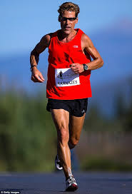 Dean Karnazes Pictured During Navarino Challenge Run In 2013 Messini Greece Has