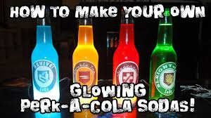 Nuka Cola Lava Lamp by How To Make Your Own Glowing Perk A Cola Sodas Youtube