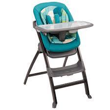 كرسي الطعام 4 في 1 للأطفال من ماركة ايفن فلو- لون أزرق فاتح