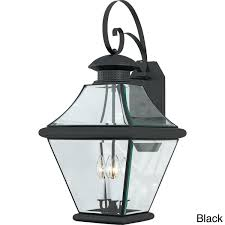 quoizel rutledge 2 light outdoor wall sconce free shipping today