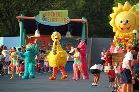 Sesame Place Halloween Parade by The Main Street Of Sesame Street Picture Of Sesame Place