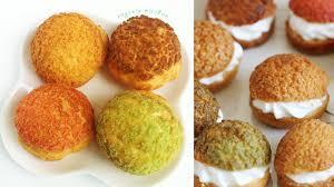choux au craquelin crunchy puff recipe 쿠키슈 만들기