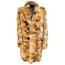 roberto cavalli fox fur coat for men for sale at 1stdibs