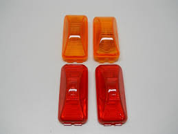 100 Truck Marker Lights Incandescent 25 Amber 2 Red 2 Trailer Clearance Side