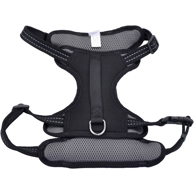 Coastal Pet Products Reflective Control Handle Harness - Black