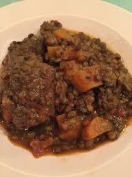 cuisine lentille boulettes de bœuf aux lentilles et sa cuisine gourmande