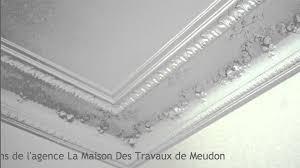 restauration plafonds haussmannien moulures et rosaces staffeur