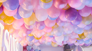 No Helium Required For This Epic Balloon Ceiling