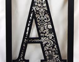 Choose Your Own Damask Paper Cutting Template