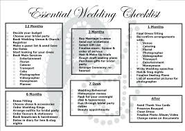 Detailed Wedding Planning Checklist Checklists Printable Uk